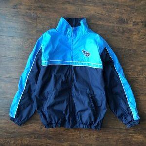 Tennessee Titans Men's Stadium Warmup Jacket Blue